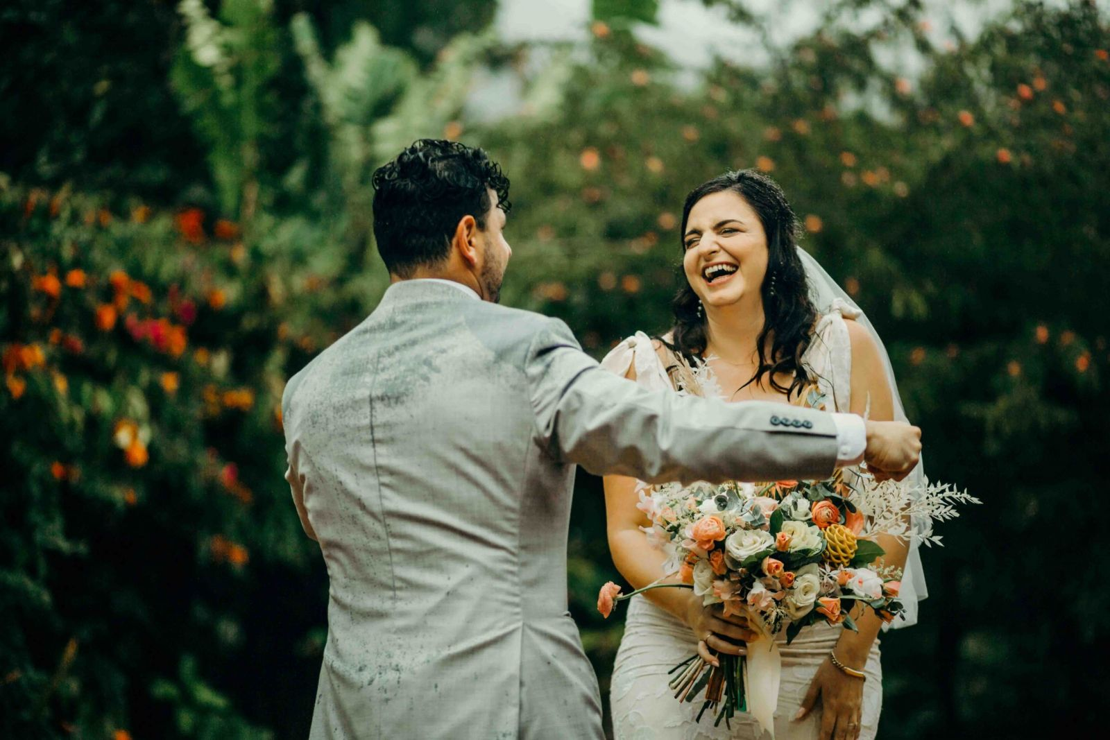 Puerto Rico Rainforest Wedding